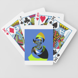 Woman of Colors Bicycle Playing Cards
