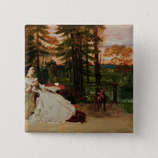 Woman of Frankfurt, 1858 Button
