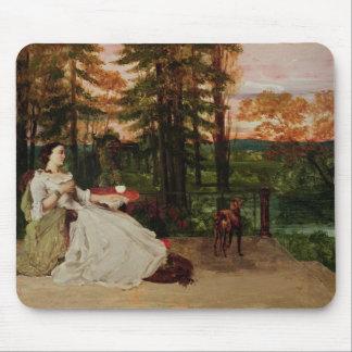 Woman of Frankfurt, 1858 Mouse Pad