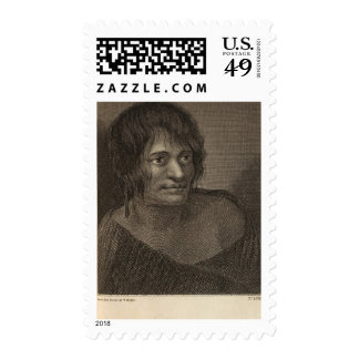 Woman of New Zealand Stamp
