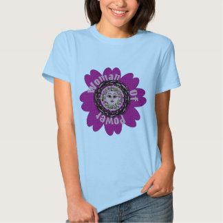 Woman Of Power Flower Shirt