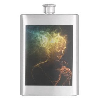 Woman of Smoke Flask