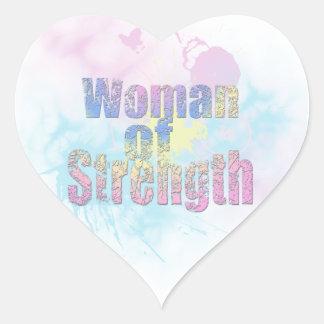 WOMAN OF STRENGTH Sticker