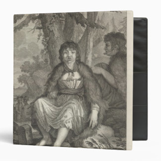 Woman of the French Port 3 Ring Binder