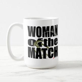 Woman of the Match Mugs