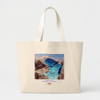 Woman of the Sky 1/Bag Large Tote Bag