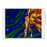 Woman of the Water Stationery Note Card
