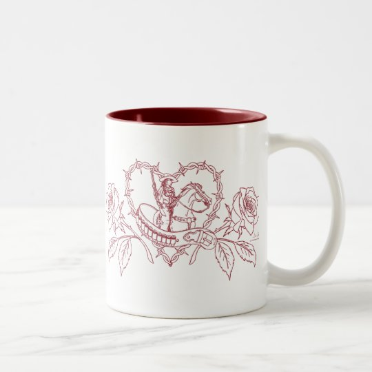 Woman of the West Two Tone Mug