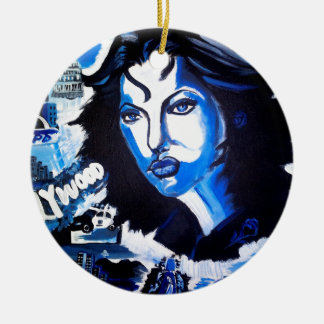 Woman of the World Ceramic Ornament