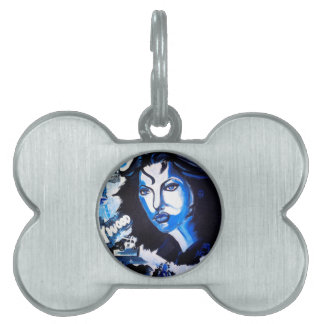 Woman of the World Pet ID Tag