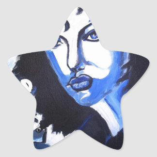 Woman of the World Star Sticker