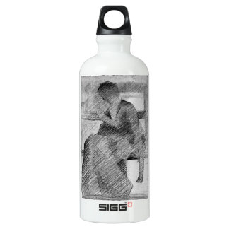 Woman on a bench by Georges Seurat SIGG Traveler 0.6L Water Bottle