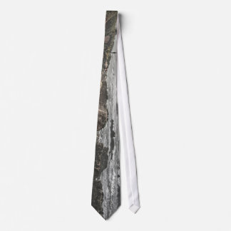 Woman on a Cliff Tie
