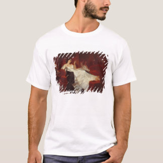 Woman on a red sofa T-Shirt