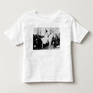 Woman on Horse Woman's Suffrage Parade Photograp Toddler T-shirt