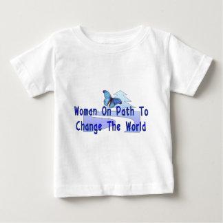 Woman On Path Baby T-Shirt