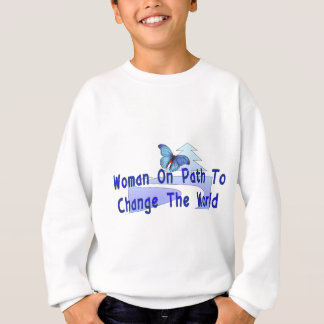 Woman On Path Sweatshirt