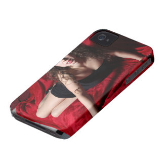 Woman On Red iPhone4 Case