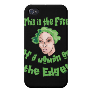 Woman on the Edge iPhone 4/4S Cases