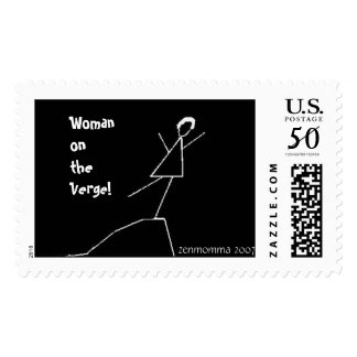 Woman on the Verge! Stamp