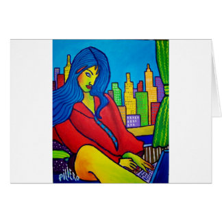 Woman Online Card
