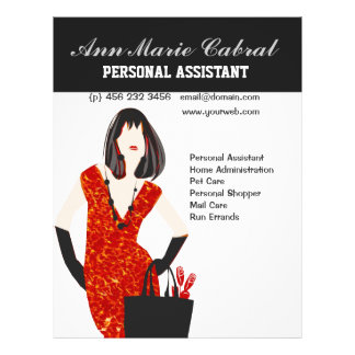 Woman Personal Assistant  Fashionista Flyer