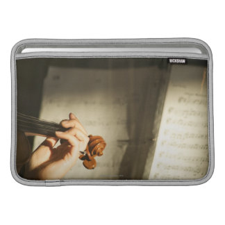Woman Playing Violin Sleeve For MacBook Air
