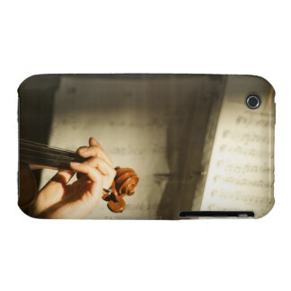 Woman Playing Violin iPhone 3 Case-Mate Case
