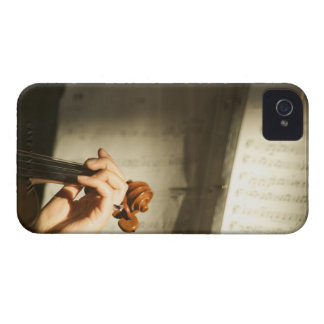 Woman Playing Violin iPhone 4 Case