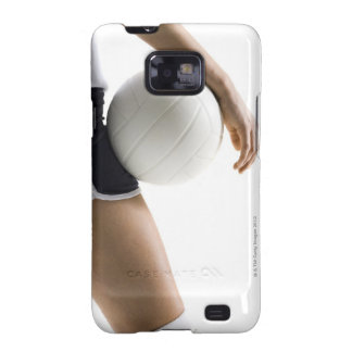 woman playing volleyball galaxy s2 case