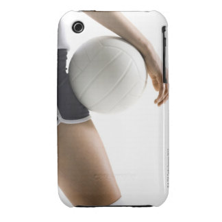 woman playing volleyball iPhone 3 covers