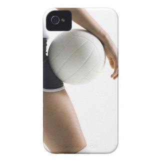 woman playing volleyball iPhone 4 case