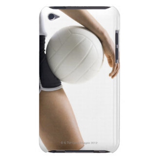 woman playing volleyball iPod Case-Mate case