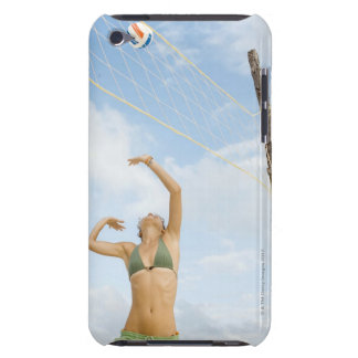 Woman playing volleyball outdoors iPod touch covers