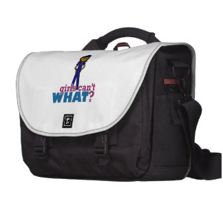 Woman Police Officer Computer Bag