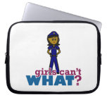 Woman Police Officer Laptop Sleeves