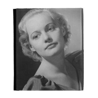 Woman Posing 2 iPad Folio Covers