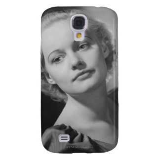 Woman Posing 2 Galaxy S4 Cover