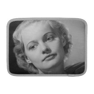 Woman Posing 2 MacBook Air Sleeve