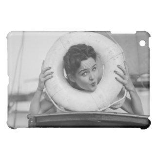 Woman Posing 3 iPad Mini Case
