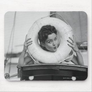 Woman Posing 3 Mouse Pad