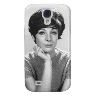 Woman Posing Galaxy S4 Covers