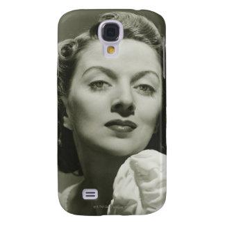 Woman Posing in Studio 2 Galaxy S4 Cases