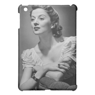 Woman Posing in Studio Case For The iPad Mini