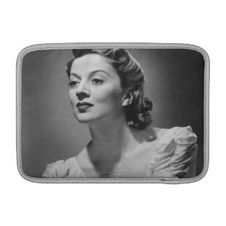 Woman Posing in Studio MacBook Sleeves