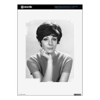 Woman Posing iPad 3 Decal
