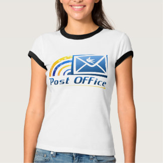 Woman Post Office Custom T-Shirts