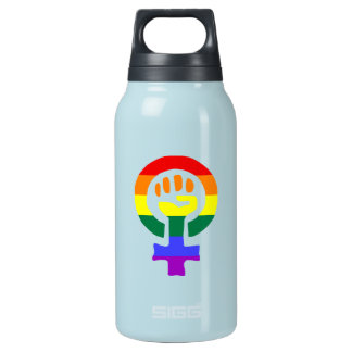 Woman Power Aluminum 10 Oz Insulated SIGG Thermos Water Bottle