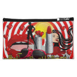 Woman Power Cosmetic Bags