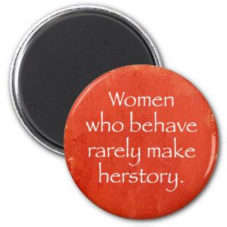 Woman Power Fridge Magnets